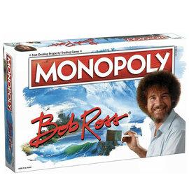 Usaopoly Jeu de société - Bob Ross The Joy of Painting - Monopoly Bob Ross