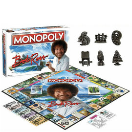 Usaopoly Jeu de société - Bob Ross The Joy of Painting - Monopoly Bob Ross