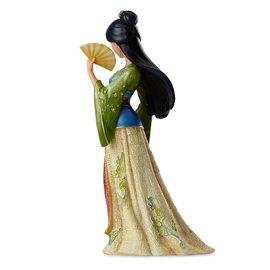 Enesco Showcase Collection - Disney - Mulan: Mulan en Robe avec Éventail Couture de Force