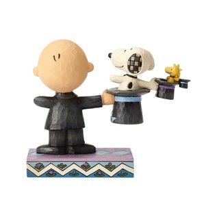 Enesco Collectionable - Peanuts - Tour De Chapeaux par Jim Shore