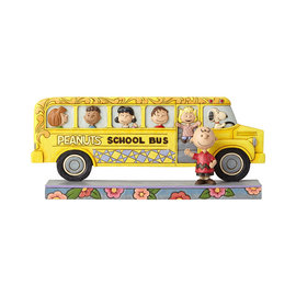 Enesco Collectionable - Peanuts - Autobus Scolaire Et Les Amis par Jim Shore