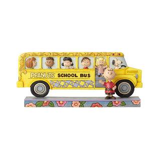 Enesco Collectionnable - Peanuts - Autobus Scolaire Et Les Amis par Jim Shore
