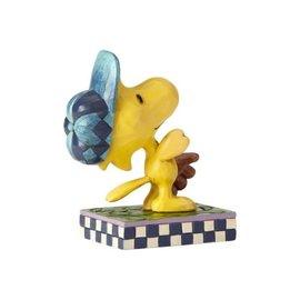Enesco Collectionable - Peanuts - Woodstock Dans Le Champ Exterieur par Jim Shore