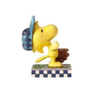 Enesco Collectionnable - Peanuts - Woodstock Dans Le Champ Exterieur par Jim Shore