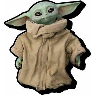 "NMR Aimant - Star Wars The Mandalorian - The Child ""Bébé Yoda"" Grogu en Bois 3D"