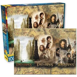 Aquarius Puzzle - The Lord Of The Rings - 3 Movies Poster 1000 pieces