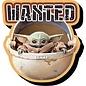 NMR Aimant - Star Wars The Mandalorian - The Child ''Bébé Yoda'' Wanted en Bois 3D