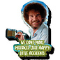 NMR Aimant - Bob Ross - We Don't Make Mistakes Just Happy Accidents en Bois 3D