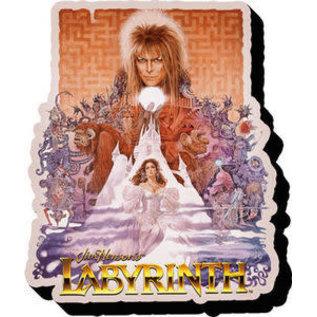 NMR Aimant - Labyrinth - Affiche du Film en Bois 3D