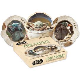 Aquarius Playing Cards - Star Wars The Mandalorian - The Child ''Baby Yoda'' Shaped