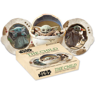Aquarius Jeu de cartes - Star Wars The Mandalorian - En Forme de ''Bébé Yoda'' The Child