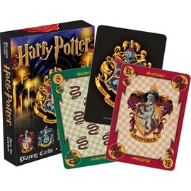 Aquarius Playing Cards - Harry Potter - Hogwarts and the Four Houses