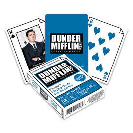 Aquarius Jeu de cartes - The Office - Dunder Mifflin Inc, Paper Company