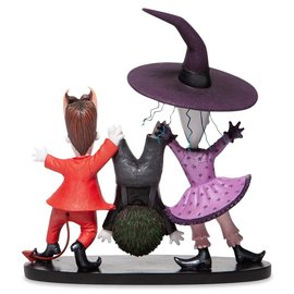 Enesco Showcase Collection - Disney - The Nightmare Before Christmas: Lock, Shock Et Barrel Couture de Force