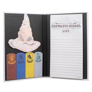 Bioworld Carnet de notes - Harry Potter - Lettre de Poudlard avec Notes Autocollantes