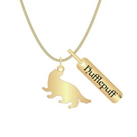 Bioworld Necklace - Harry potter - House Hufflepuff with Badger
