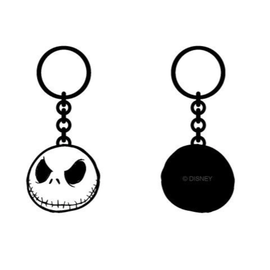 Bioworld Keychain - The Nightmare Before Christmas - Jack Skellington's Skull Metal