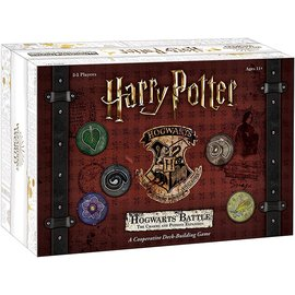 Usaopoly Jeu de société - Harry Potter - Hogwarts Battle The Charms and Potions Expansion *Version Anglaise*