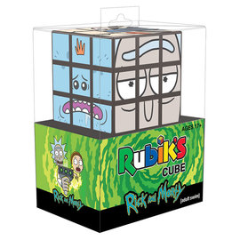 Usaopoly Jouet - Cube Rubik's Rick and Morty - Personnages 3x3