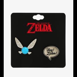 Bioworld Épinglette - The Legend Of Zelda - Navi Hey! Listen! Ensemble de 2