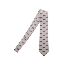 Bioworld Necktie - DC Comics - Batman Grey with Logo