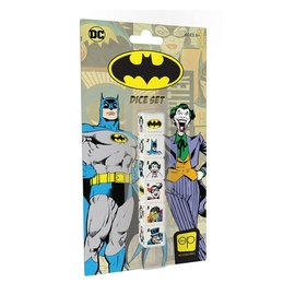 Usaopoly Board Game - DC Comics - Batman:  Set of 6 Dice with Characters