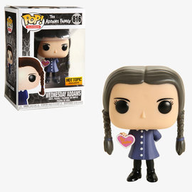 Funko Funko Pop! Television - The Addams Family - Wednesday Addams 816 *Hot Topic Exclusive*