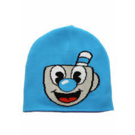 Studio MDHR Inc Tuque - Cuphead -  Mugman Bleue *Liquidation*