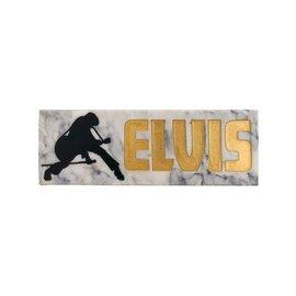 Spoontiques Desk Sign - Elvis Presley - Elvis with Guitar