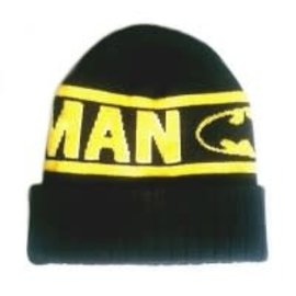 Bioworld Toque - DC Comics - Batman Yellow and Black Knitted