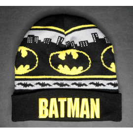 Bioworld Toque - DC Comics - Batman Embroidered Yellow with Logo