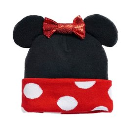 Bioworld Toque - Disney - Minnie Mouse Costume with Ears and Bow
