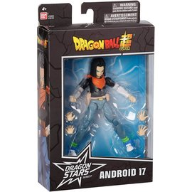 Bandai Figurine - Dragon Ball Super - Dragon Stars Series Android 17