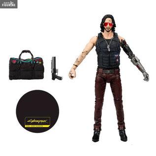 "McFarlane Figurine - CD Projekt Red - Cyberpunk 2077 Johnny Silverhand 7"""