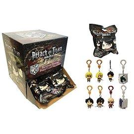 Just Toys Sac mystère - Attack on Titan - Personnages Chibi Porte-clés Figurine pour Sac