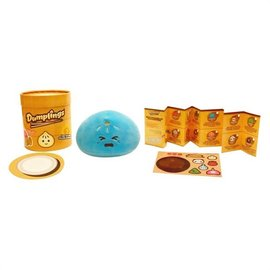 Commonwealth Toy & Novelty Blind Box - Dumplings - Mini Surprise Plush with Collector's Menu and Sticker