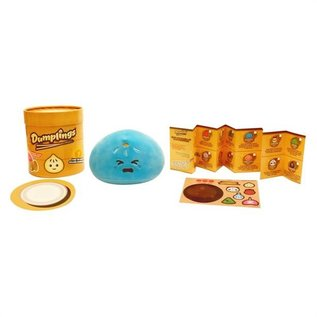 Commonwealth Toy & Novelty Boîte mystère - Dumplings - Mini Peluche Surprise avec Menu et Autocollant