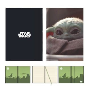 "Bioworld Carnet de Notes - Star Wars The Mandalorian - The Child ""Bébé Yoda"""