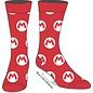 Bioworld Chaussettes - Nintendo - Super Mario: Logo M de Mario 1 Paire Crew