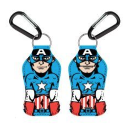 Bioworld Hand Sanitizer Holder - Marvel - Captain America