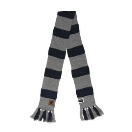 Elope Scarf - Harry Potter - Ravenclaw Heathered Striped with Leather Patch