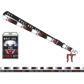 Bioworld Lanyard - IT - What are you Afraid of ?