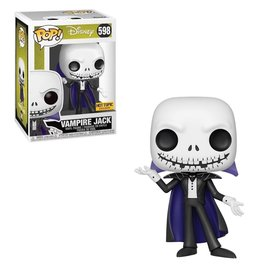 Funko Funko Pop! - Disney The Nightmare Before Christmas - Vampire Jack (Metallic) 598 *Hot Topic Exclusive*