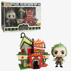 Funko Funko Pop! Town - Beetlejuice -  Beetlejuice with Dante's Inferno Room 06 *Hot Topic Exclusive*
