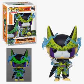 Funko Funko Pop! Animation - Dragon Ball Z - Perfect Cell 759 Glows in the Dark *2020 Spring Convention Exclusive*