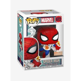 Funko Funko Pop! - Marvel Spider-Man - Spider-Man with Pi Shirt 672 *BoxLunch Exclusive*