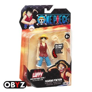 AbysSTyle Figurine - One Piece - Luffy 4""