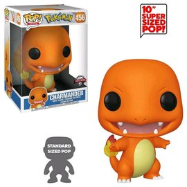 "Funko Funko Pop! - Pokémon - Charmander 456 10 "" *Special Edition*"