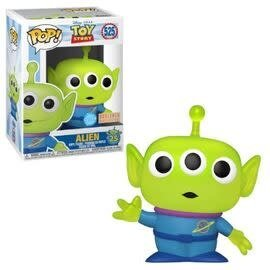 Funko Funko Pop! - Disney Toy Story  - Alien 525 Glitter Translucent *BoxLunch Exclusive*