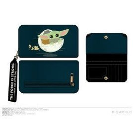 Bioworld Wallet - Star Wars The Mandalorian - The Child ''Baby Yoda'' Techno Pouch